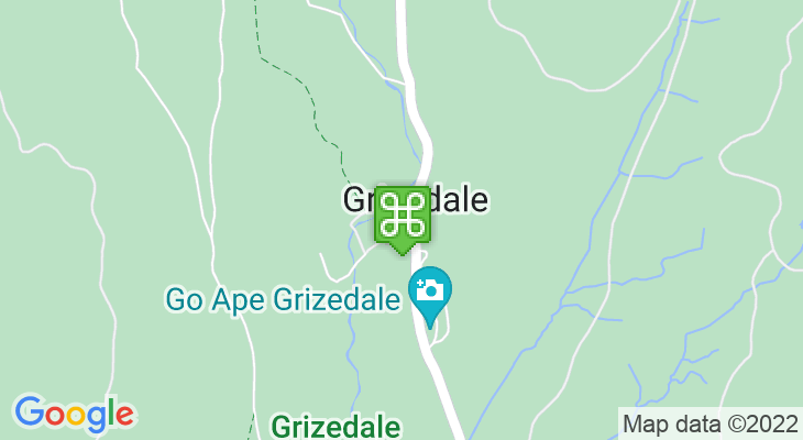 Map showing location of Go Ape Grizedale Forest