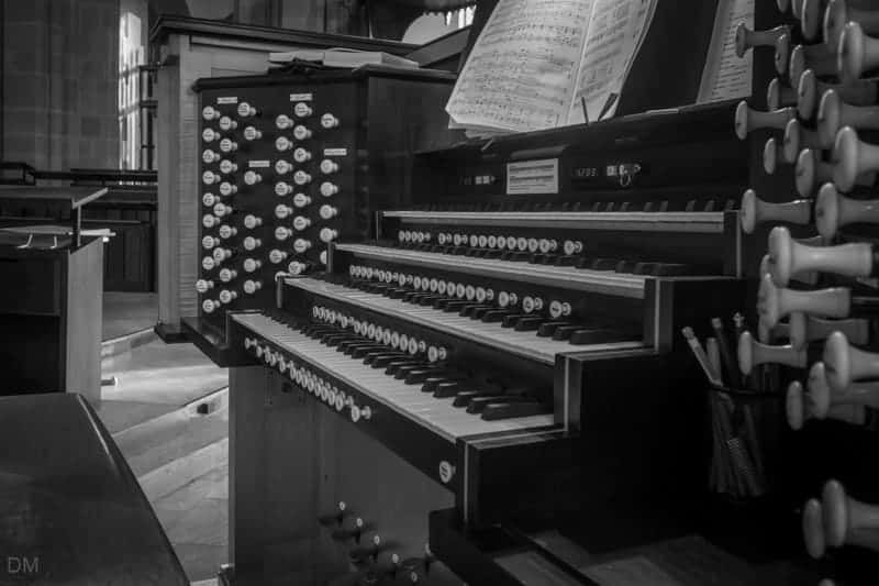 Organ at Blackburn Cathedral, Blackburn, Lancashire