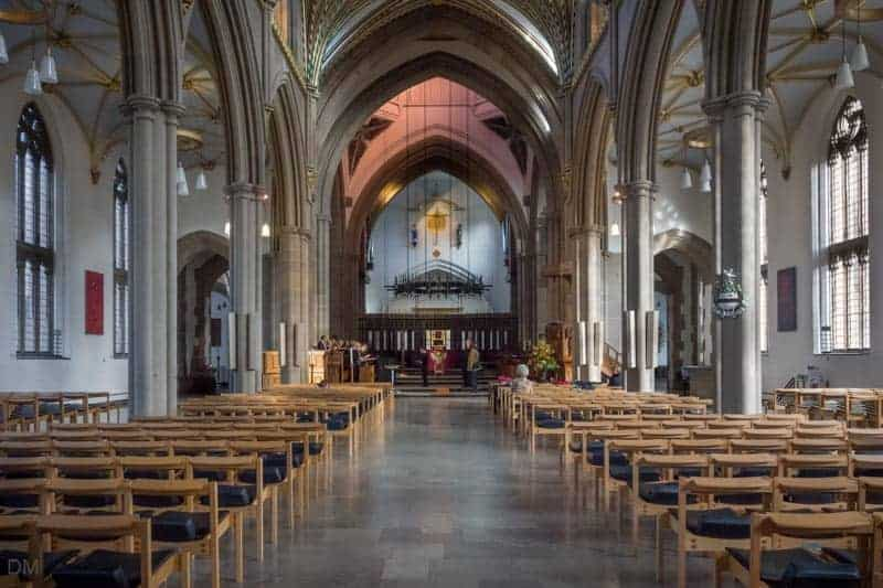 Blackburn Cathedral - Light from Lantern Tower Illuminating Altar