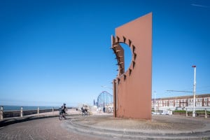 Desire sculpture by Chris Knight, Great Promenade Show Blackpool