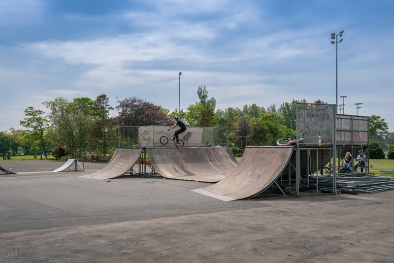 Skate Park, Stanley Park, Blackpool