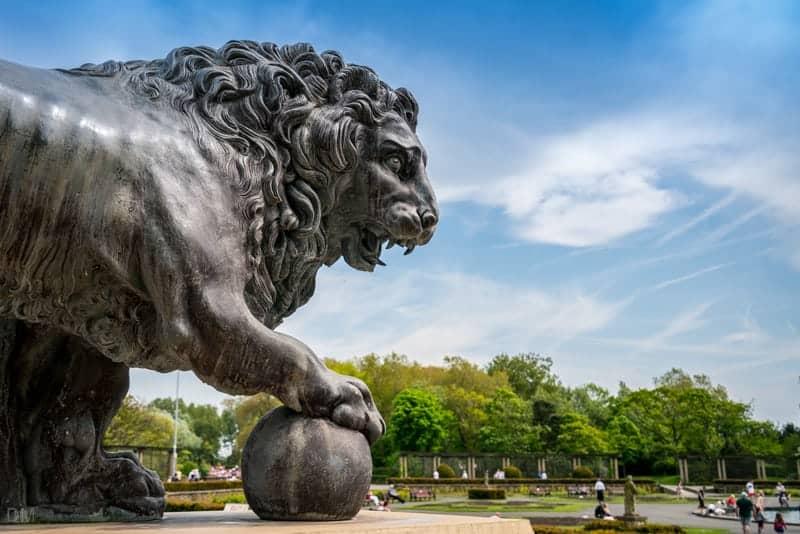 Medici Lion, Stanley Park, Blackpool