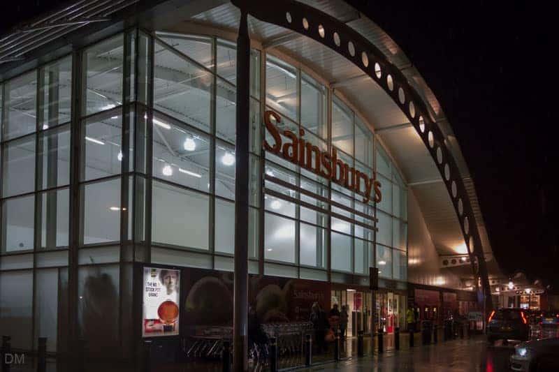 Sainsbury's supermarket, Bolton Shopping Park, Trinity Street