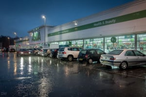 Asda superstore at Burnden Park retail park in Bolton