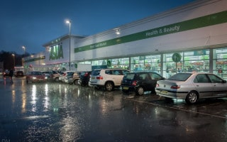 Asda superstore at Burnden Park retail park in Bolton