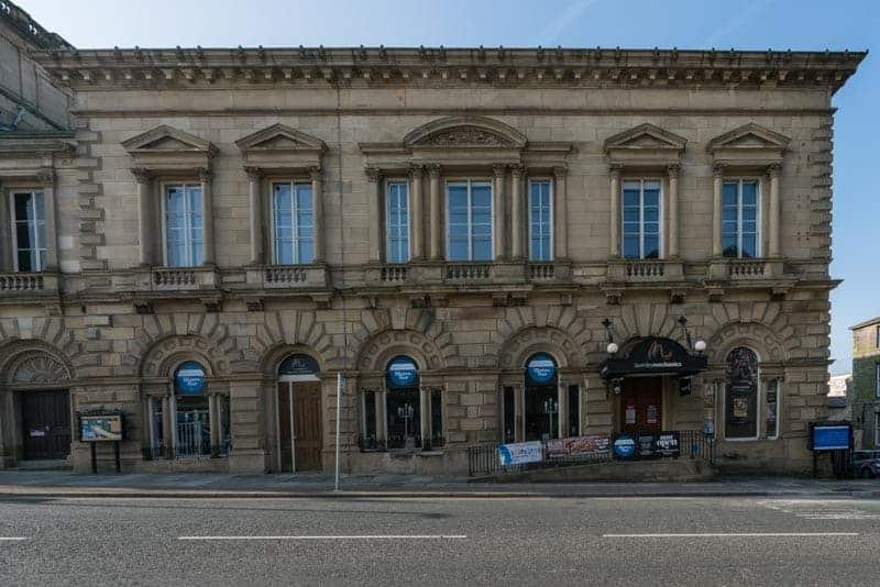 Burnley Mechanics Theatre on Manchester Road in Burnley, Lancashire