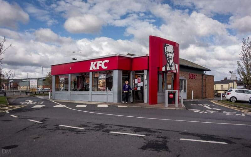 KFC (Kentucky Fried Chicken) at Moorgate Retail Park in Bury