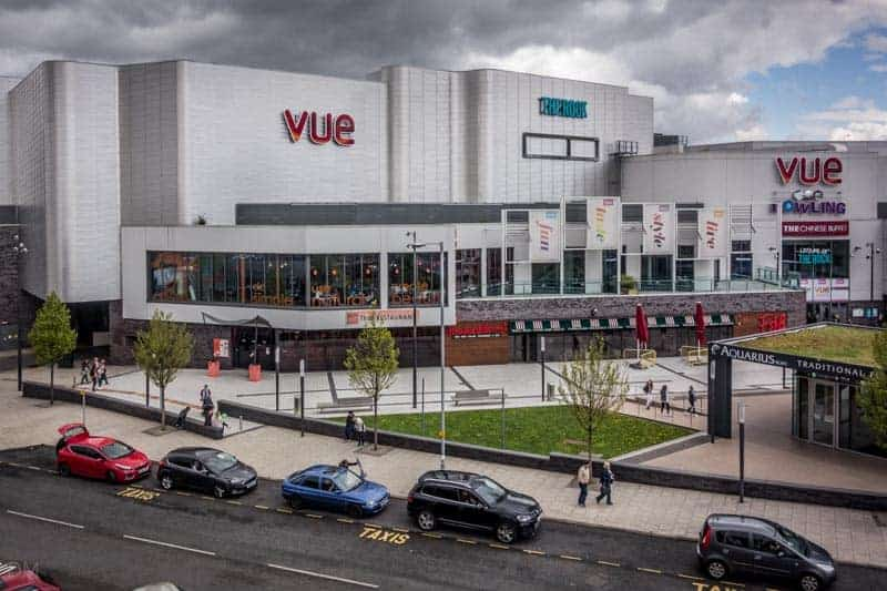 The Rock - Vue Cinema, AMF Bowling, Bury, Greater Manchester.