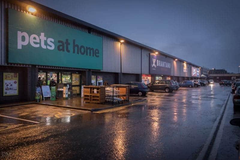 Central Retail Park Bolton Maplin