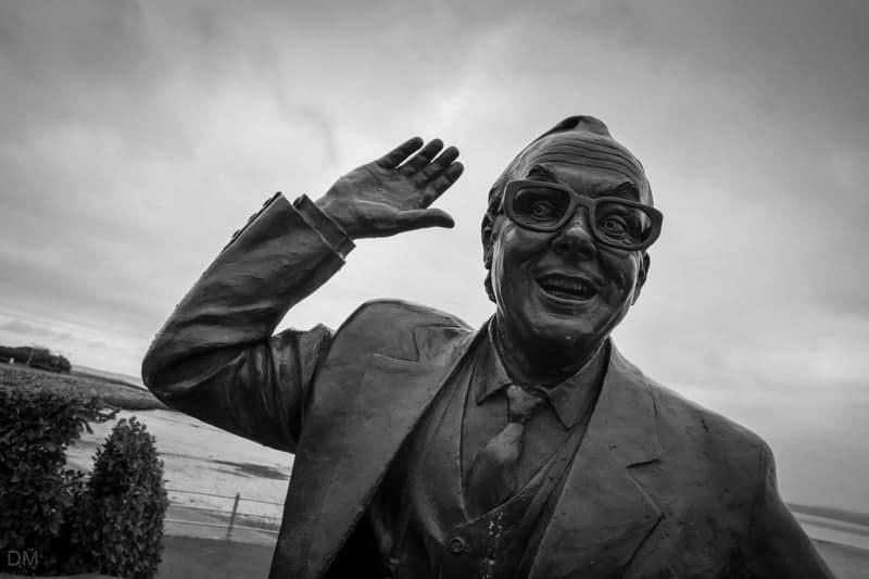 Eric Morecambe Statue, Morecambe Promenade
