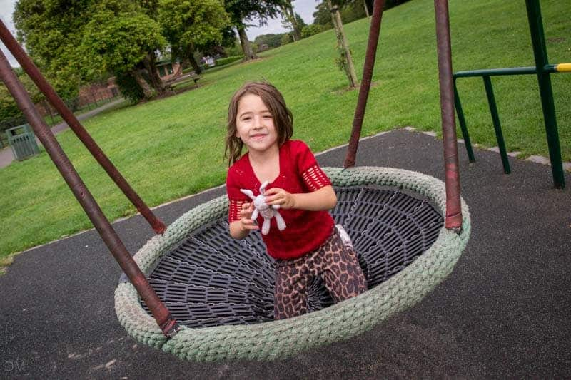 Playground at Haigh Country Park in Wigan