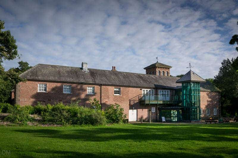 Stables - cafe and information centre at Haigh Hall in Wigan