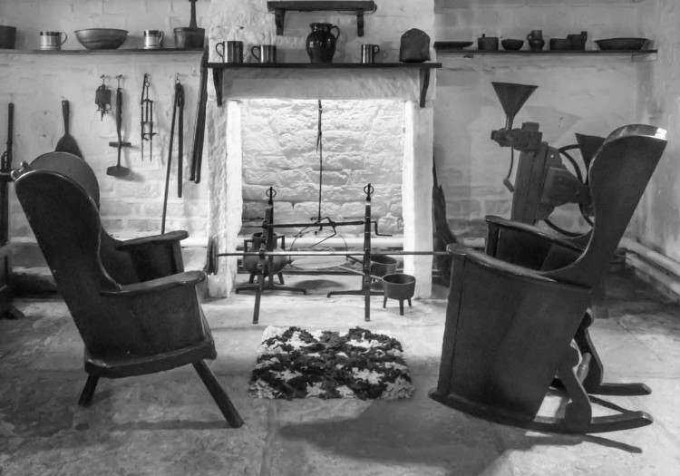 Dairy room at Hall i' th' Wood, Bolton
