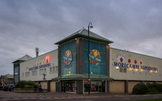 Morecambe Superbowl, Tenpin bowling centre in Morecambe, Lancashire