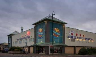 Morecambe Superbowl, Tenpin bowling centre in Morecambe, Lancashire