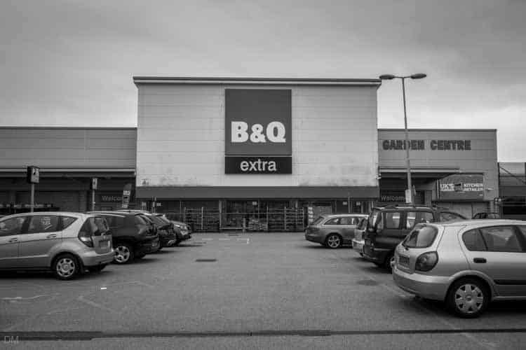 B&Q Nova Scotia Retail Park Blackburn