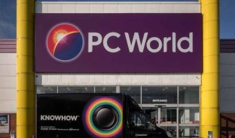 PC World at the Peel Centre in Blackburn