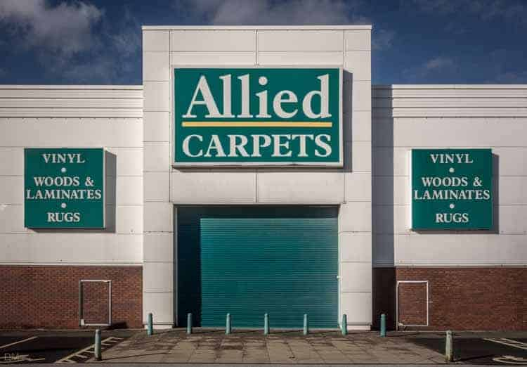 Allied Carpets at the Peel Centre in Blackburn