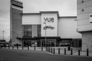 Vue Cinema and Bowlplex at the Peel Leisure and Retail Park in Blackburn