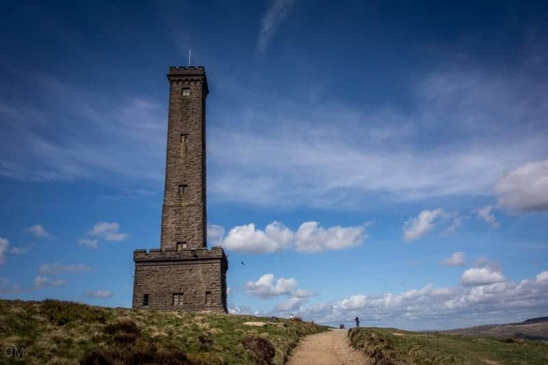Peel Tower or Peel Monument on Holcombe Hill