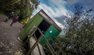 Tom Edmondson Hide at Pennington Flash Country Park