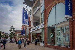 Fishergate Shopping Centre in Preston, Lancashire.