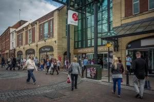 St George's Shopping Centre in Preston, Lancashire.