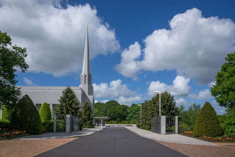 Preston England Temple, a Mormon temple in Chorley, Lancashire
