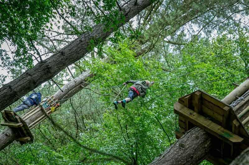 Go Ape, Lever Park, Rivington