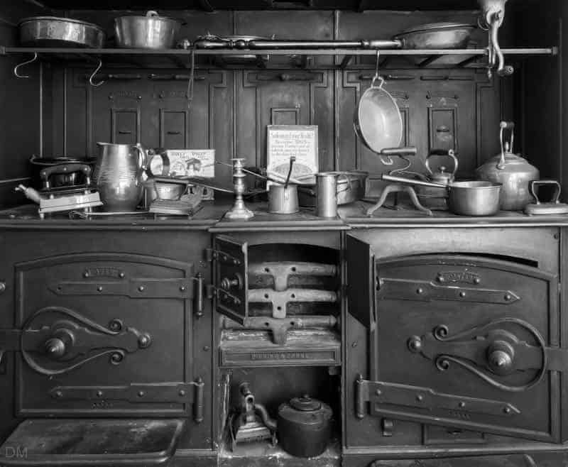 Victorian Kitchen at Samlesbury Hall, near Preston