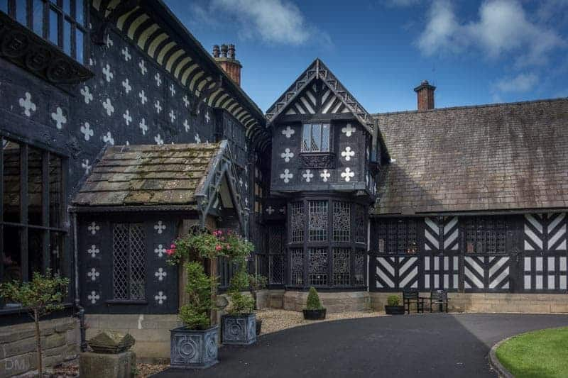 Main Entrance to Samlesbury Hall