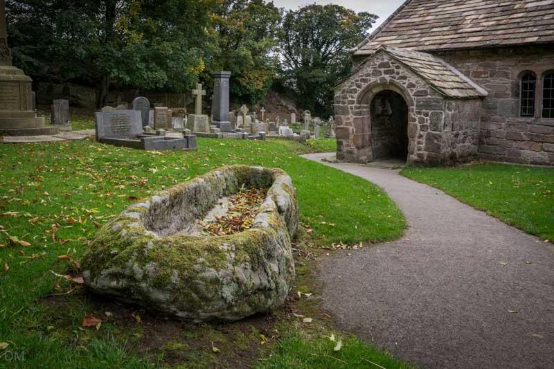 Stone Coffin, St Peter's Church, Heysham