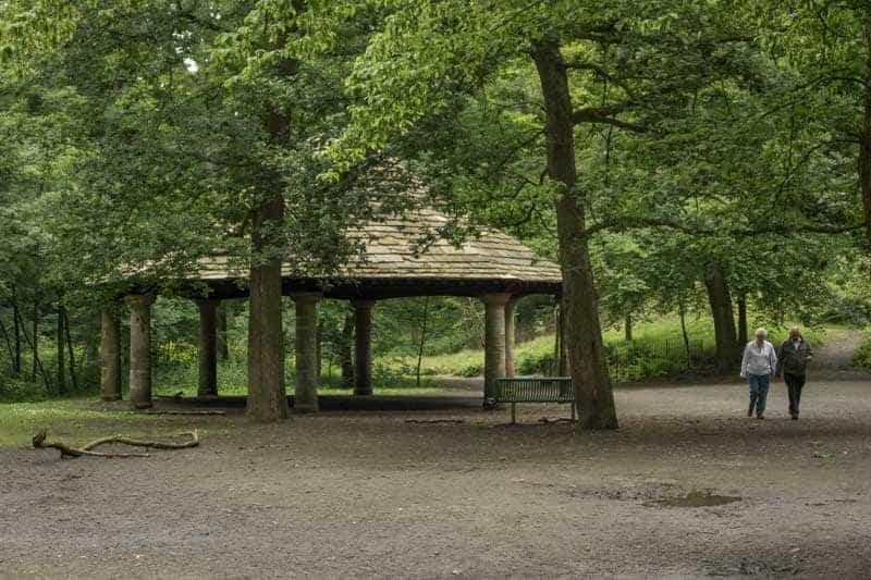 Bandstand, Sunnyhurst Wood, Darwen