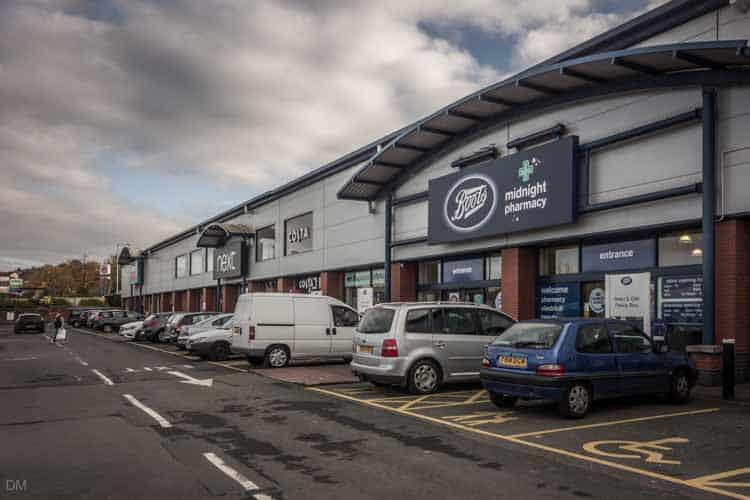 Boots, Next, Argos at the Townsmoor Retail Park in Blackburn