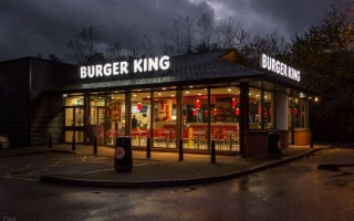 Burger King, Trinity Retail Park, Bolton, Greater Manchester