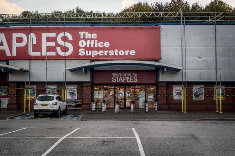 Staples, Trinity Retail Park, Bolton
