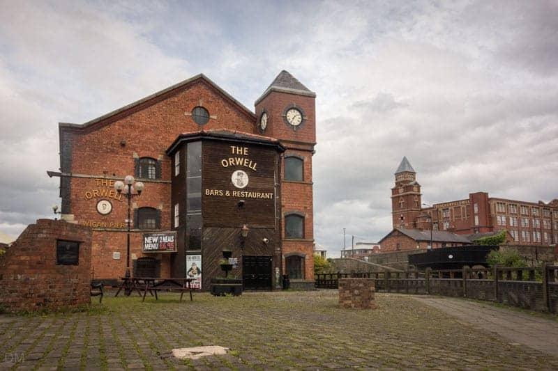 The Orwell pub at Wigan Pier
