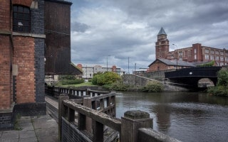 Trencherfield Mill at Wigan Pier.