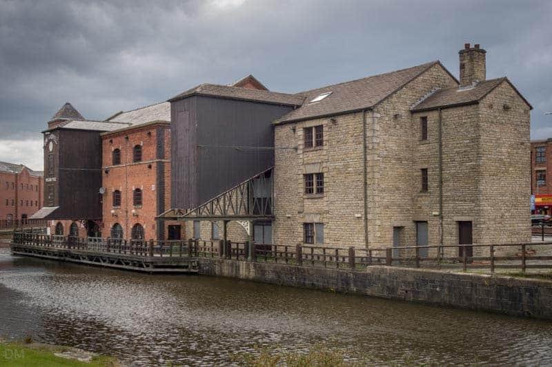 Warehouses at Wigan Pier.