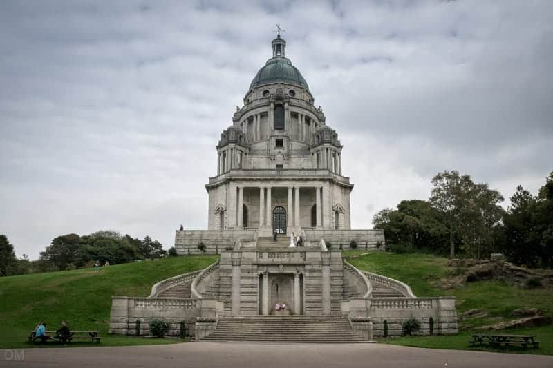 Wedding at Ashton Memorial in Williamson Park, Lancaster.