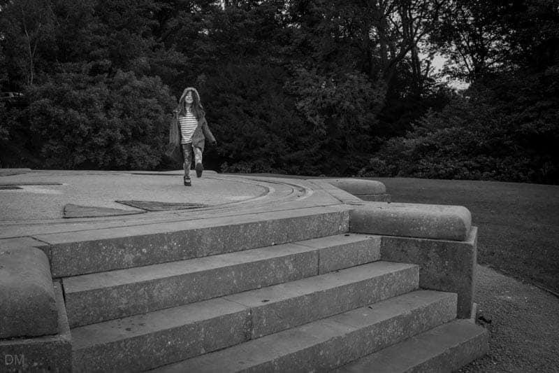 Lancaster Sundial in Williamson Park, Lancaster.