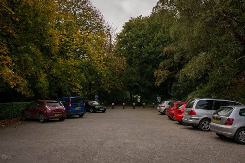 Wyresdale Road Car Park at Williamson Park in Lancaster.