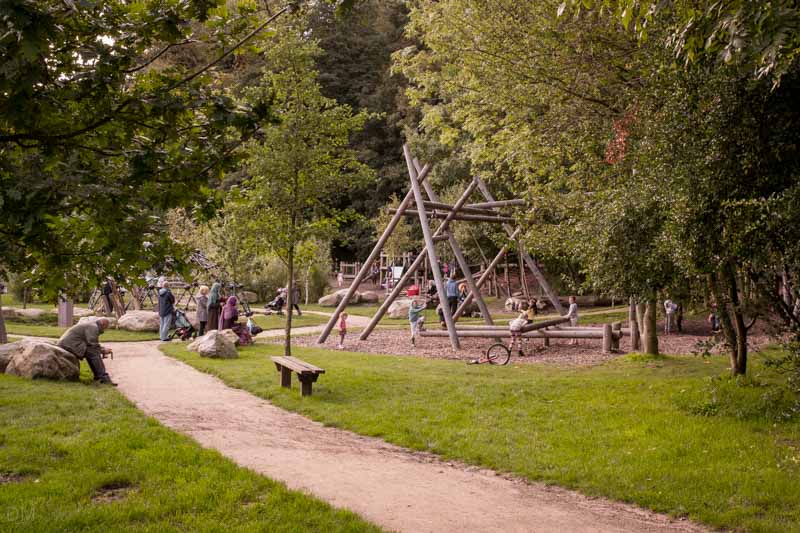 Wits Adventure Playground, Witton Country Park, Blackburn Lancashire