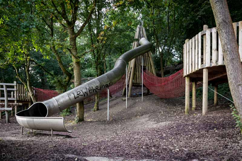 Slide - The Wits, Witton Country Park, Blackburn