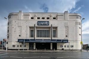 Entrance to the O2 Apollo Manchester