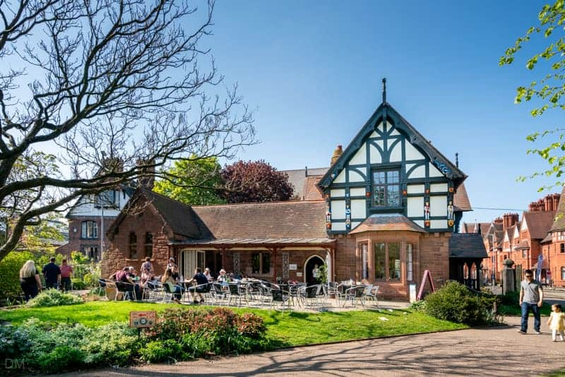 Cafe at Grosvenor Park, Chester