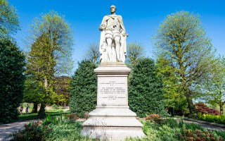 Marquess of Westminister Statue, Grosvenor Park, Chester