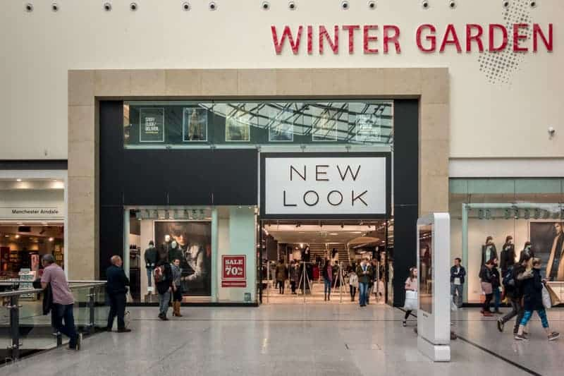 Arndale Centre Manchester, Winter Garden - New Look