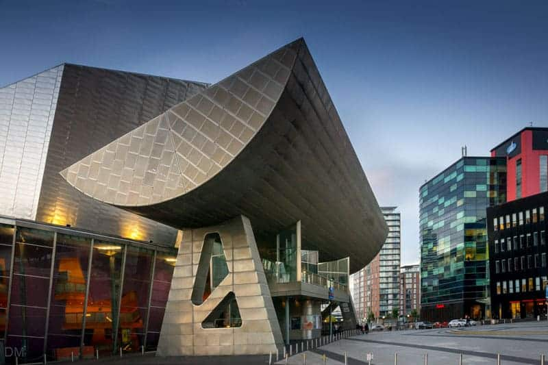 The Lowry Theatre at Salford Quays