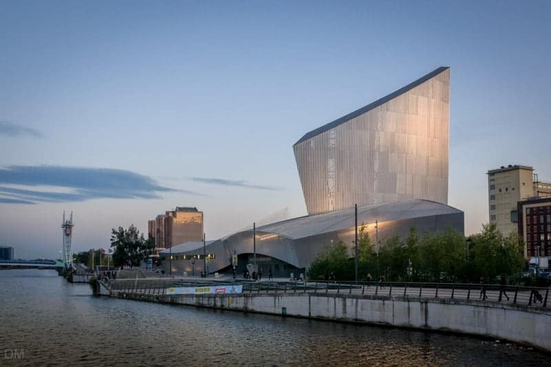 Imperial War Museum North, Salford Quays, Greater Manchester